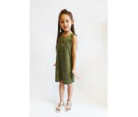 Платье для девочки арт.ПН-0027 золотой